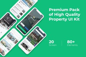 Mobile UI KIT - Property App