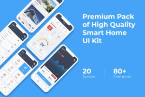 Mobile UI KIT - Smart Home App