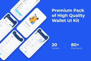 Mobile UI KIT - Wallet App