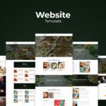 Website Template - Organic Food Resto