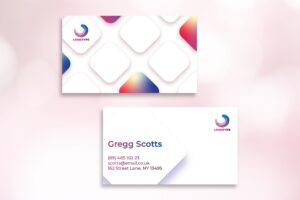 Business Card - Clean Rectangular Template