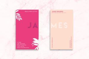 Business Card - Make Up Artist