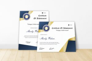 Certificate - Company Rewards