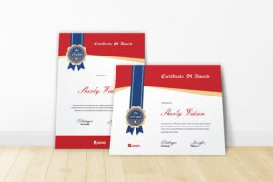 Certificate - Personal Awards
