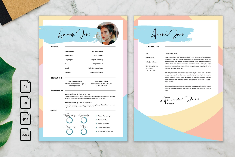 CV Resume - Creative Content Profile