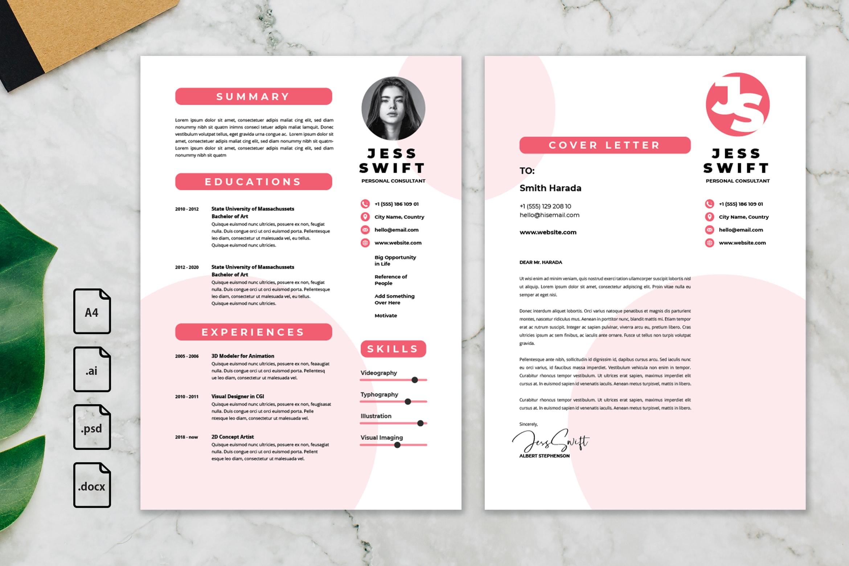 CV Resume - Personal Consultant