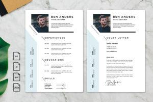 CV Resume - Visual Designer Profile