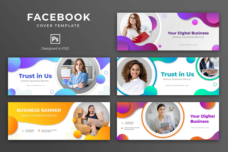 Facebook Cover - Digital Business