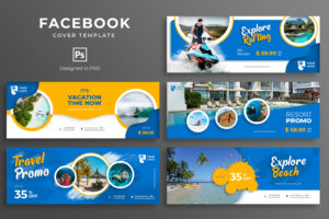 Facebook Cover - Explore Beach