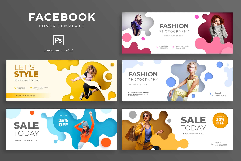 Facebook Cover - Fashion Photography
