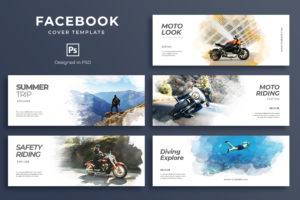Facebook Cover - Moto Riding Trip