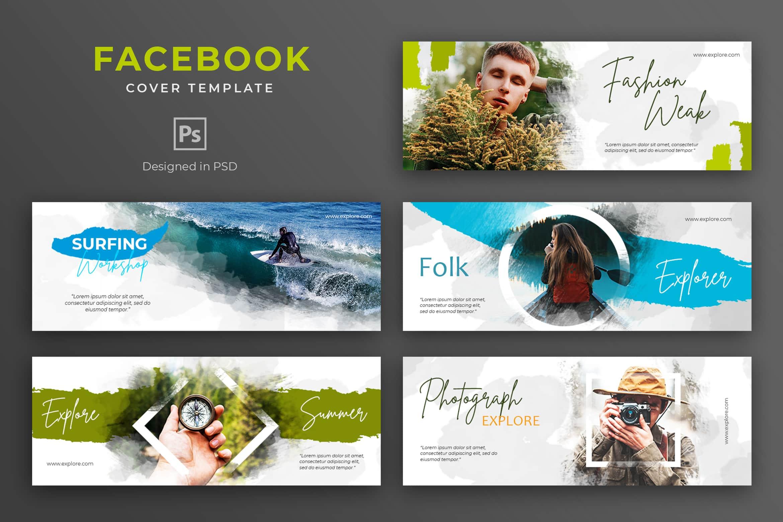 Facebook Cover -Photograph Explore