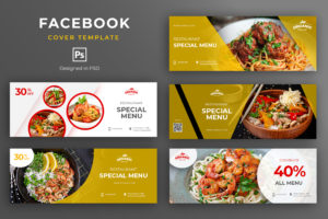 Facebook Cover - Restaurant Special Menu