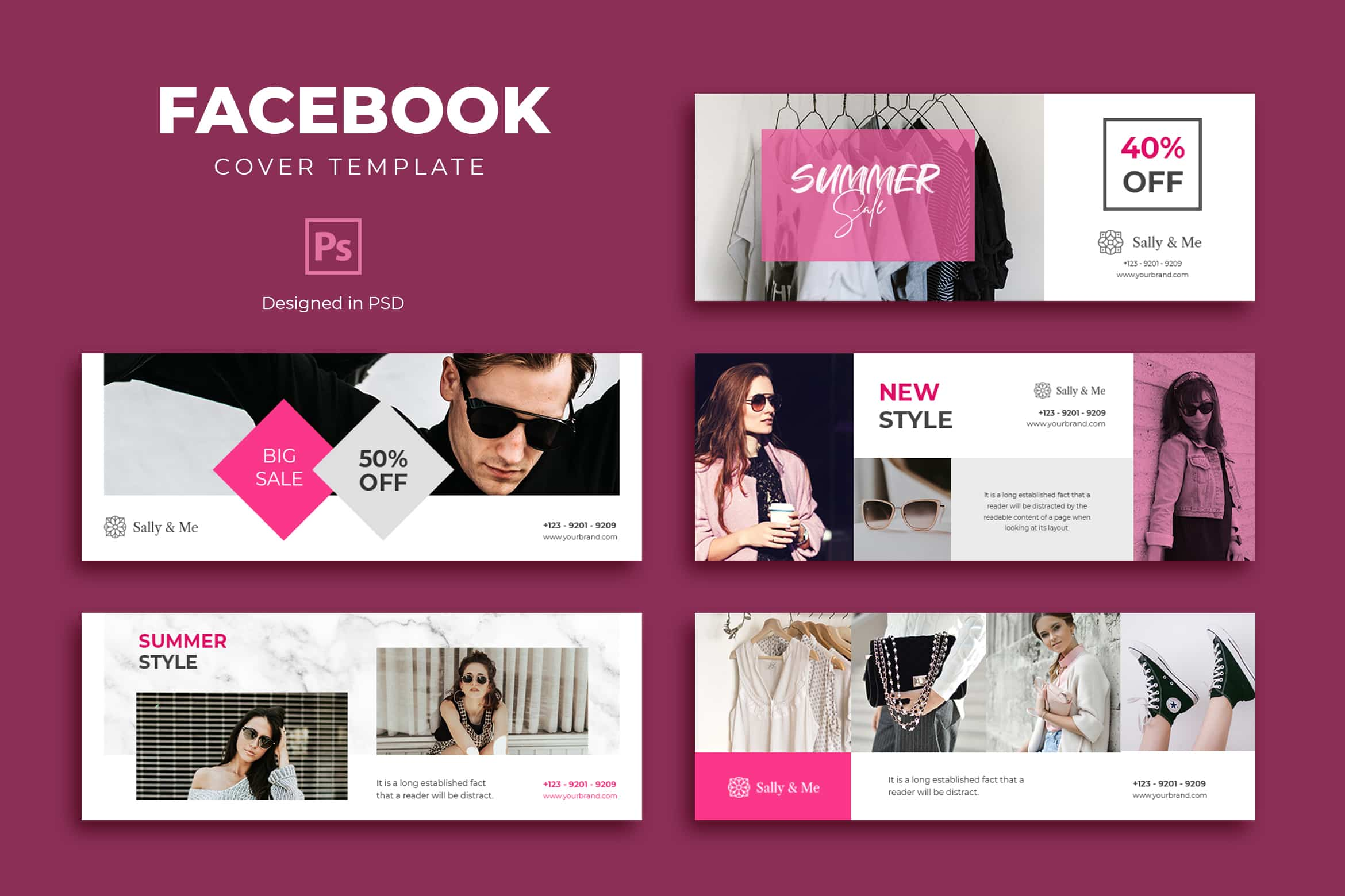 Facebook Cover - Summer Fashion Sale