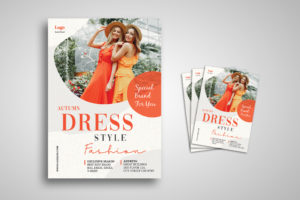 Flyer Template- Autumn Dress Style