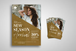 Flyer Template - Classic Style Fashion