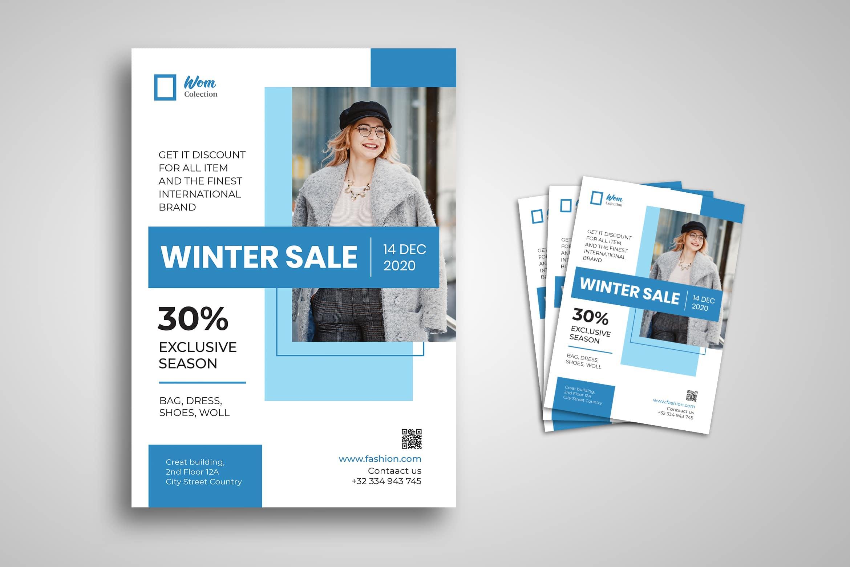 Flyer - Winter Sale Fashion
