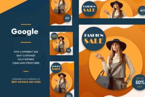 Google Ads Web Banner - Fashion Sale