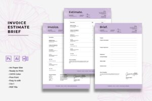 Invoice - Design Project