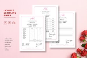 Invoice - Photographer Studio