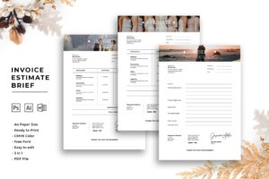 Invoice - Wedding Planner