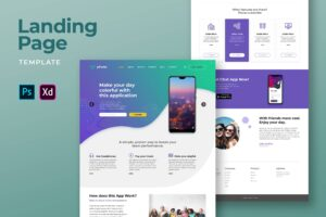 Landing Pages - Fun Music Player