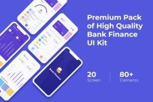 Mobile UI KIT - Bank Finance App