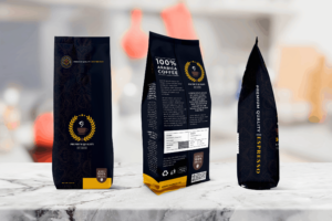 Packaging Template - Arabica Coffee
