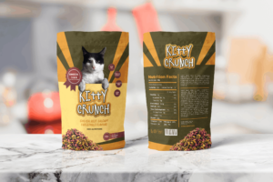 Packaging Template - Cat Nutrition