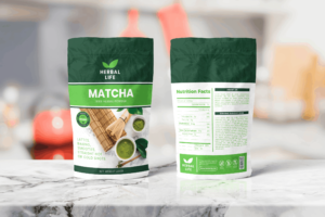 Packaging Template - Matcha Herbal