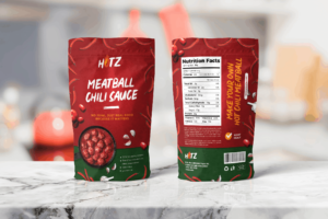 Packaging Template - Meatball Hot