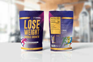 Packaging Template - Muscle Growth Nutrition