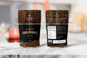 Packaging Template - Roasted Coffee
