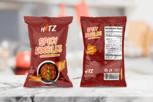 Packaging Template - Spicy Noodles