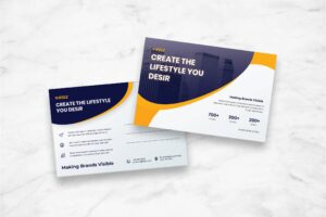 Postcard - Business Brand