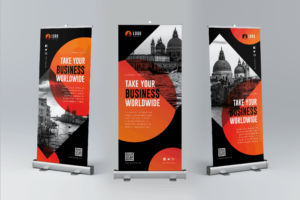 Roll Up Banner - Classic Travel Business