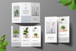 Trifold Brochure - Botanical Garden