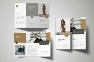 Trifold Brochure - Fashion Product