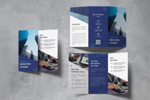 Trifold Brochure - Marketing Agency
