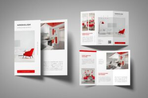 Trifold Brochure - Minimalism Interior