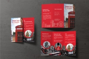 Trifold Brochure - Royal Tour Service