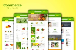 Web Commerce - Fresh Vegetables Store