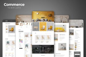 Web Commerce - Modern Interior Design
