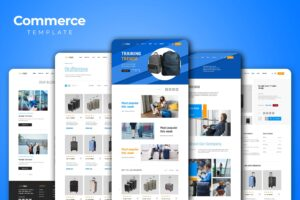 Web Commerce - Travel Suitcase Shop