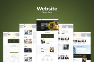 Website Template - Digital Money Market