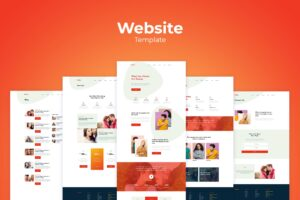 Website Template - Social Branding