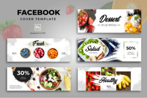 Facebook Cover - Dessert Healthy Resto