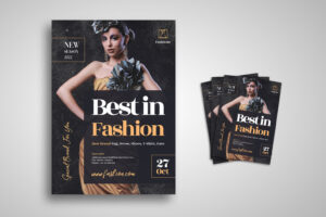Flyer Template - Best Fashion & Dress