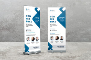 Roll Up Banner - Business Conference