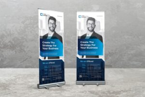 Roll Up Banner - Business Strategic